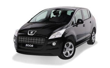 Peugeot 3008 (or similar)